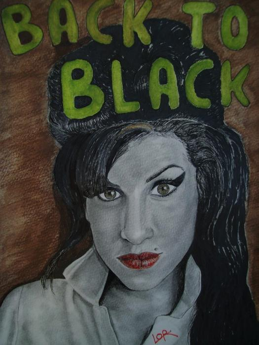 Amy Winehouse by Laulau